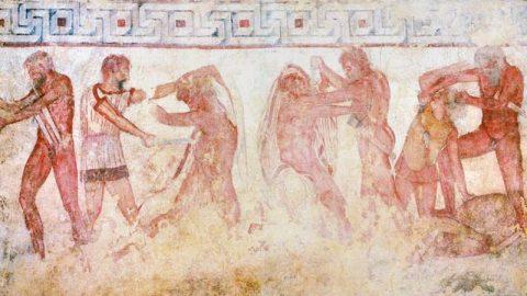 Riportiamo a Vulci gli affreschi della tomba François